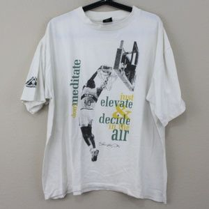 VTG Reebok Shawn Kemp Above The Rim T-Shirt D407